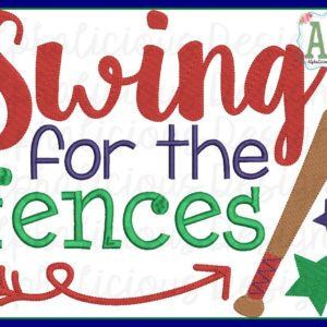 Swing For The Fences Word Art