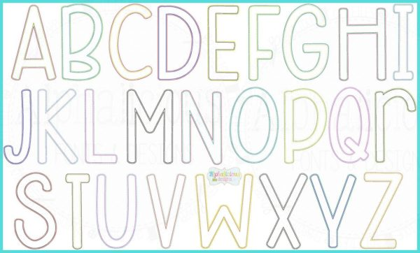 Behind Your Beautiful Double Vintage Embroidery Font