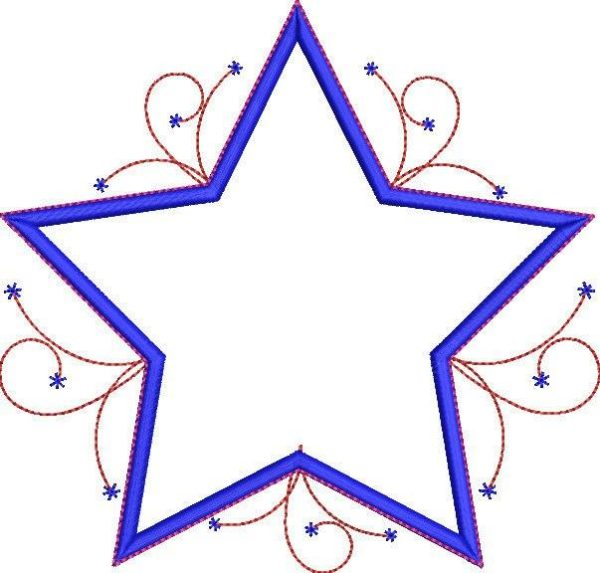 Celebration Star Applique