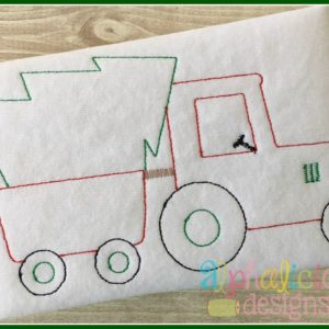Oh Christmas Tree Tractor- Vintage