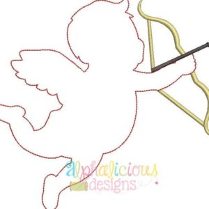 Cupid Applique - Triple Bean