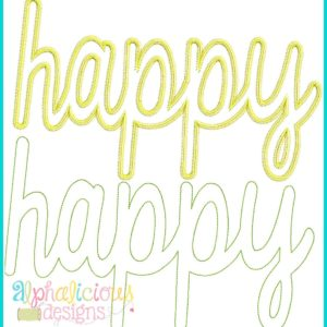 Happy Applique