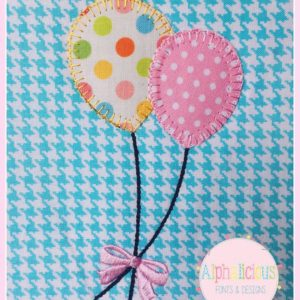 Balloon Applique-Blanket
