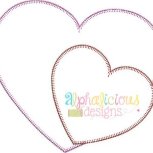 Valentine's Sweet Heart Applique Design- Blanket