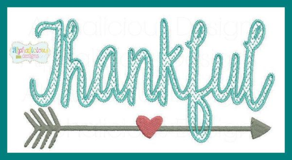 Thankful Embroidery