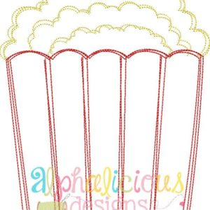 Perfect Popcorn-Scribble Vintage