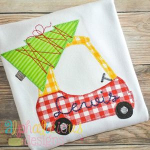 Christmas Dreams Coupe Blanket-Applique Design