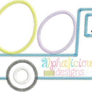 Flatbed Truck with Easter Eggs Applique - Zig Zag