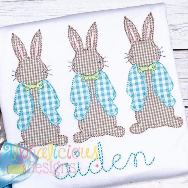 Mr. Peter Cottontail Three In A Row-Blanket