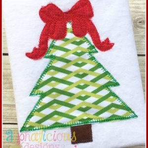 Southern Charm Christmas Tree Blanket Applique Design