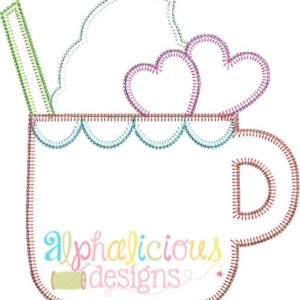 Sweetie Pie Sipper Applique Design- Blanket