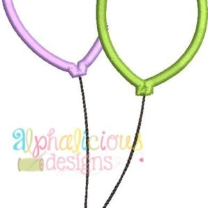 Balloon Applique- Satin