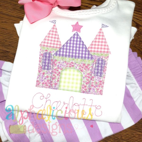 Pretty Princess Castle-Blanket