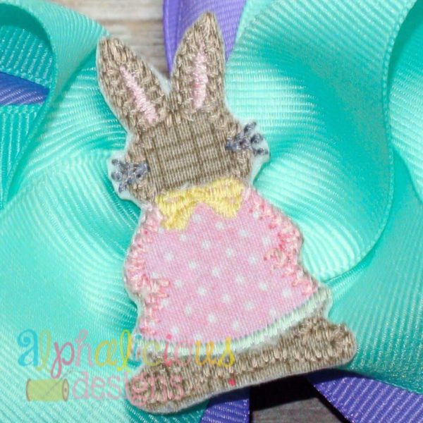 Little Miss Cottontail Feltie - Blanket
