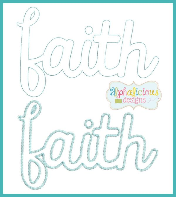 FAITH Applique