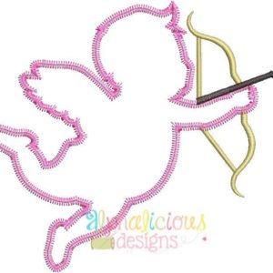 Cupid Applique - ZigZag