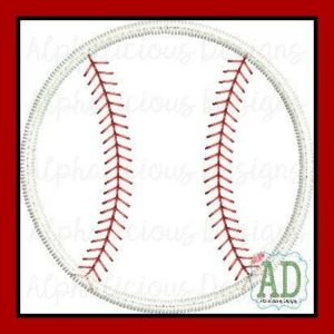 Applique Baseball
