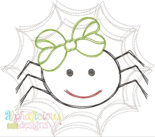 Mrs. Scribble Spider- Vintage