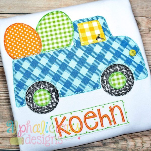 Easter Egg Truck- Blanket
