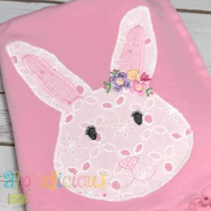 Simply Sweet Floral Rabbit- ZigZag