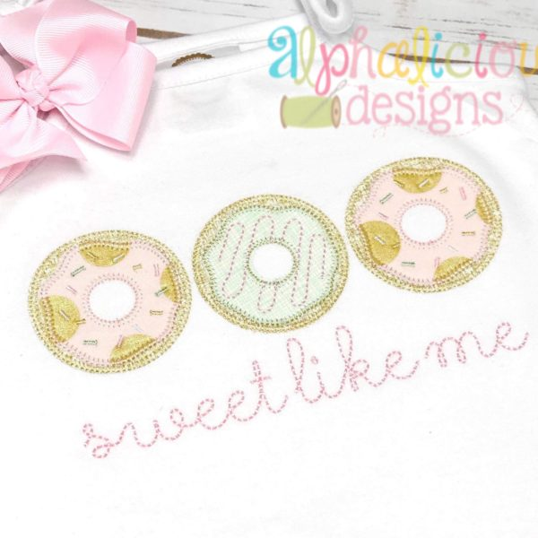 Donut Three In A Row-Blanket