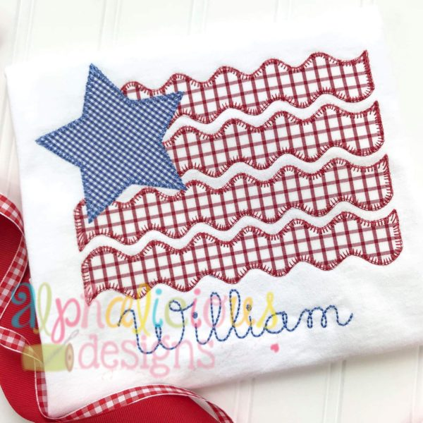 Star Spangled Patriot Flag- Blanket