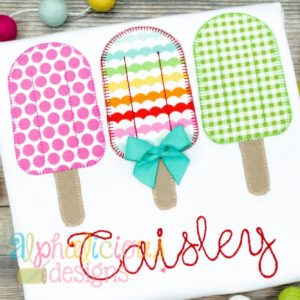 Popsicle Three In a Row - Blanket