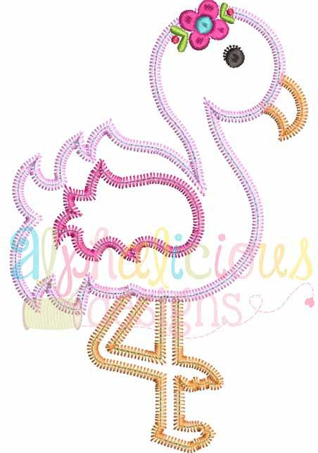 Sweet And Sassy Flamingo-ZigZag