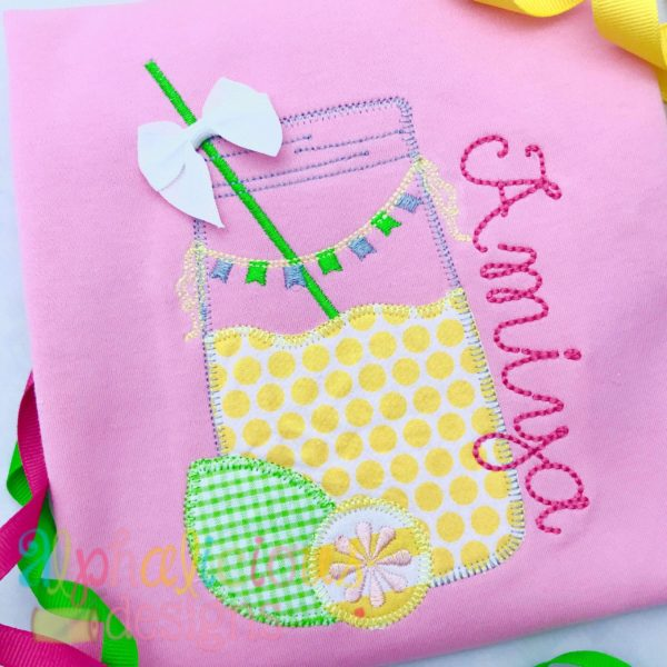 Sweet Summer Time Lemonade Jar-Blanket
