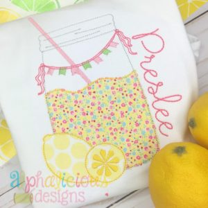 Sweet Summer Time Lemonade Jar-Triple Bean