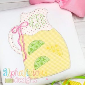 Sweet Summer Time Lemonade Pitcher-Blanket