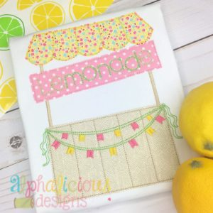 Sweet Summer Time Lemonade Stand-Triple Bean