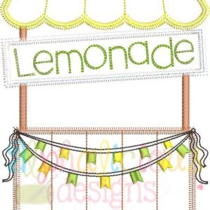 Sweet Summer Time Lemonade Stand-ZigZag