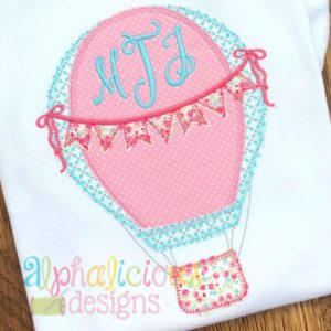 Up Up and Away Balloon with Bows - Blanket