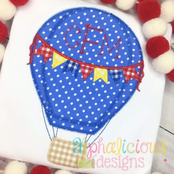 Up Up and Away Balloon with Ties - ZigZag
