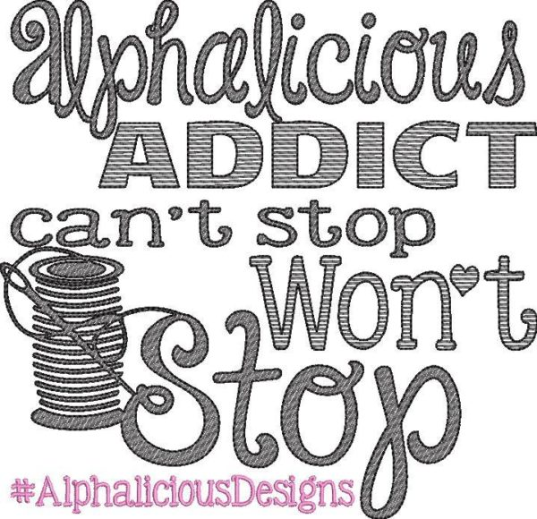 Applique Getaway Battle of the Shirts Alphalicious Addict Freebie! Sketch Embroidery