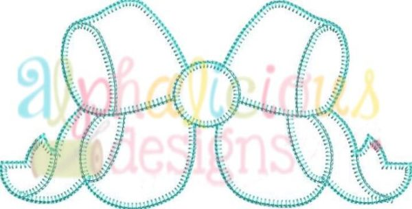 Southern Girl Applique Bow-Blanket