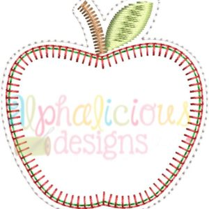 Apple Feltie- Blanket