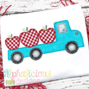 Apple Pickin Flat Bed Truck-Blanket
