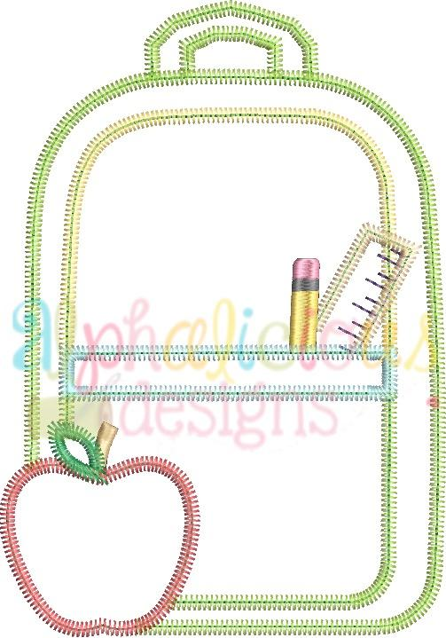 Back To School Backpack-Simple-ZigZag