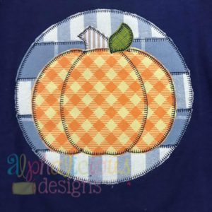 Patchwork Circle Pumpkin- Blanket