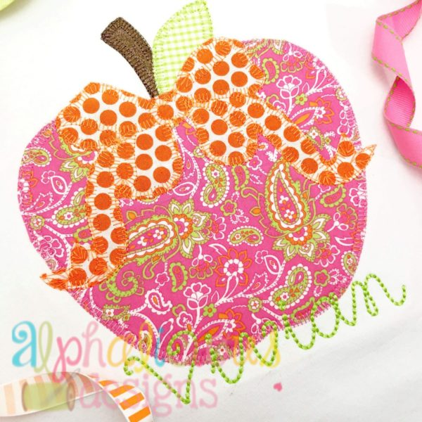 Apple with Bow-Blanket