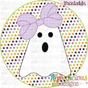 Boo-tiful Ghost Girl-Printable