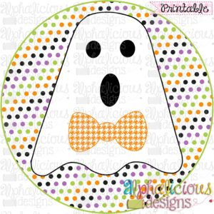 Mr. Boo-Tie Ghost-Printable
