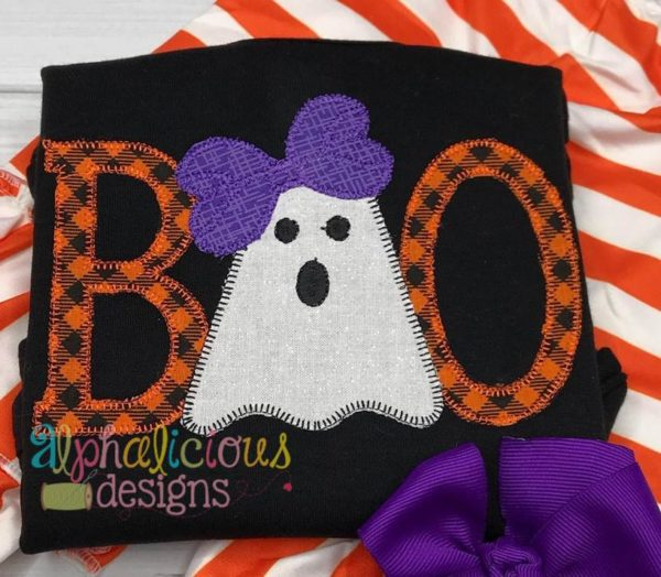 BOO with Bow-Blanket