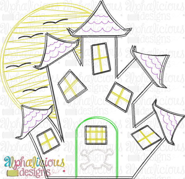 Haunted House- Scribble