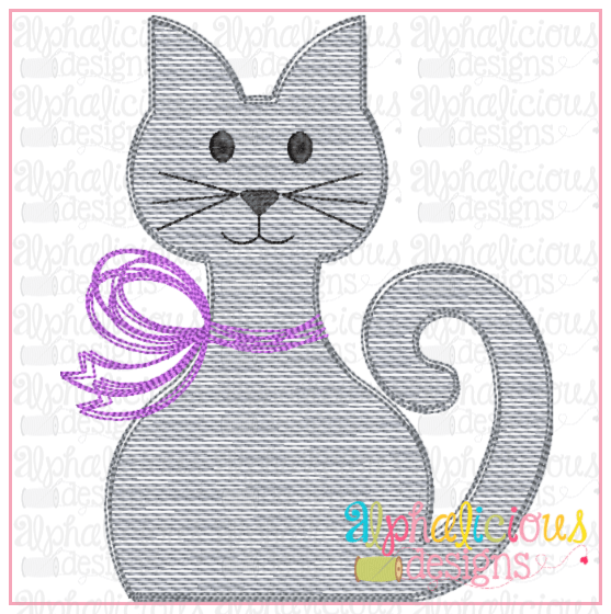Kitty with Bow- Sketch