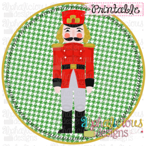 Nutcracker 1 In Circle-Printable