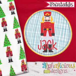 Nutcracker 2 In Circle-Printable