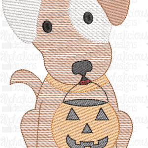 Trick OR Treat Pup- Sketch